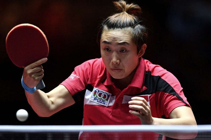 Singapore's top female paddler Feng Tianwei, who is recuperating from a cold, says she needs to bounce back from her shock loss fast as there are many other competitions coming up. She was impressed with the mental maturity of her teenaged conqueror.