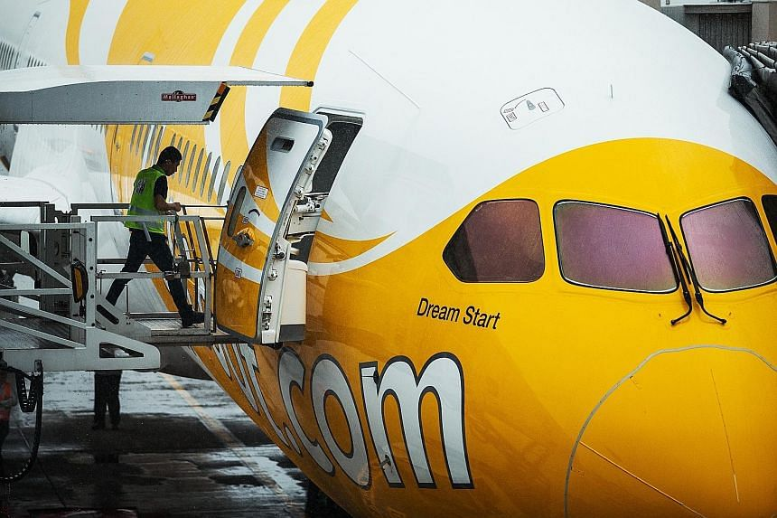 After July 25, Tigerair and Scoot will operate under a common licence, with the integrated fleet comprising Scoot's Boeing 787 Dreamliners and Tigerair's Airbus A320 aircraft. They will all be outfitted with Scoot's livery by the middle of next year.
