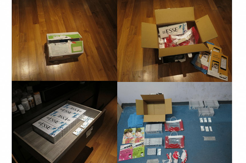 A total of 24 cartons, 13 packets and 16 sticks of contraband cigarettes were seized in the operation, with an estimated $1,960 and $140 in evaded duty and GST respectively.