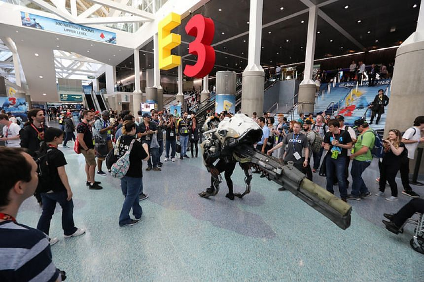 The video game industry gathers once a year to show off its latest games at the E3 (Electronic Entertainment Expo) conference.