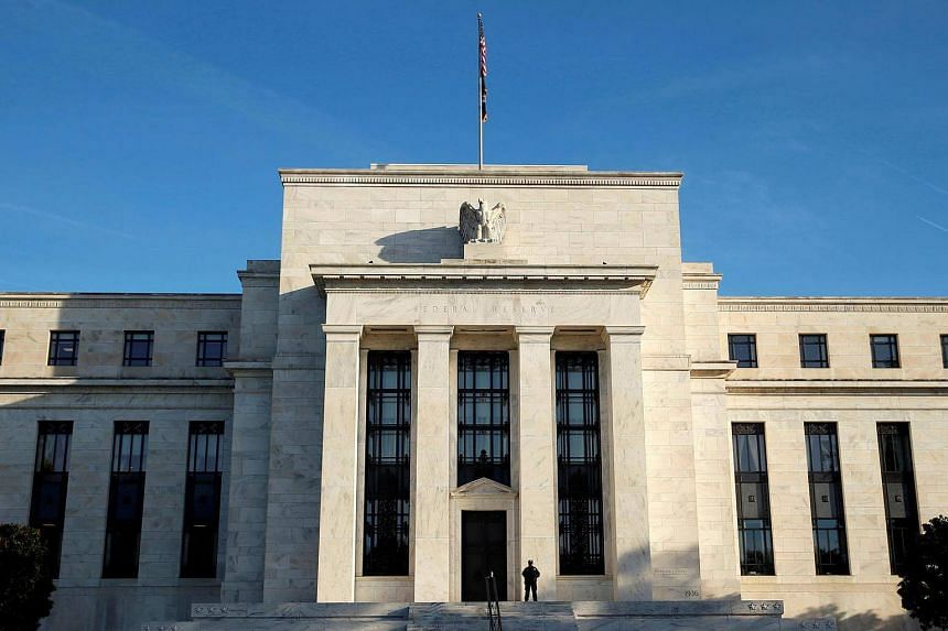 A view of the Federal Reserve in Washington, DC.