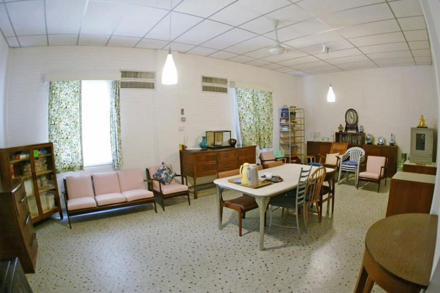 The basement dining room of late founding Prime Minister Lee Kuan Yew's house at 38 Oxley Road. It was here that the founding members of the People's Action Party discussed setting up a new left-wing party.