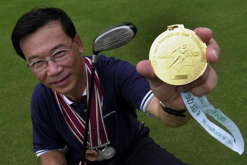 Mr Chua Chai Leng, a participant in the 14th World Transplant Games.