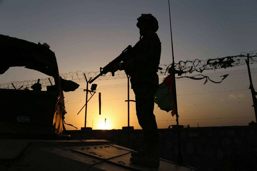 Several American soldiers were wounded and one Afghan soldier was killed at Camp Shaheen in northern Afghanistan.