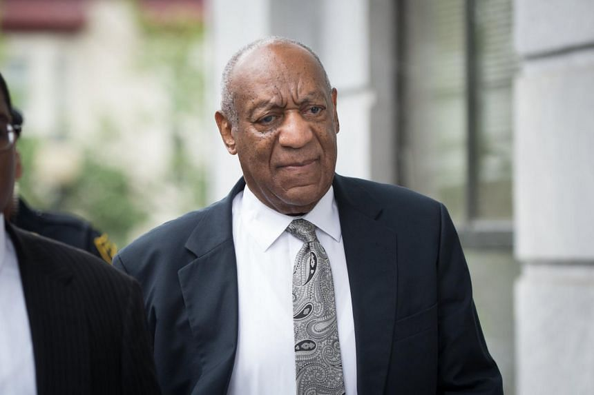 US entertainer Bill Cosby arrives at the Montgomery County Courthouse in Norristown, Pennsylvania, USA on June 17, 2017