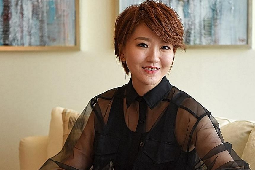 Home-grown singer Joi Chua has launched a new album, I Am Me.