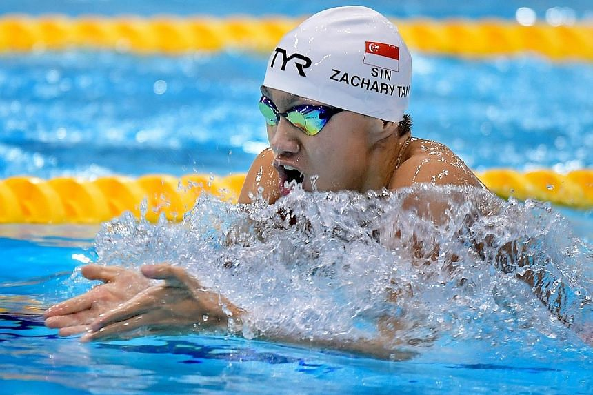 Swimming: Zachary has big picture in mind, Sport News & Top
