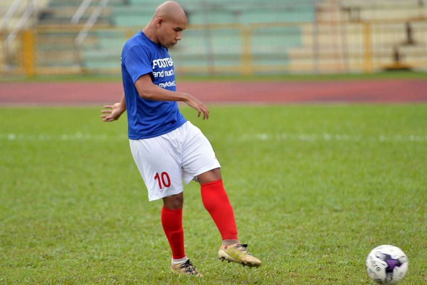 Mr Khairul Anwar, 31, was Singapore's cerebral palsy football team captain at the Asean Para Games two years ago.