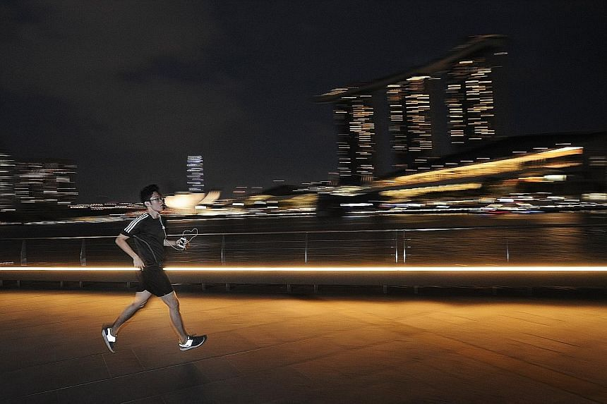 Contrary to what some people might think, exercise in the evening or at night does not disrupt sleep patterns, according to Charles A. Czeisler, director of the division of sleep medicine at Harvard Medical School.