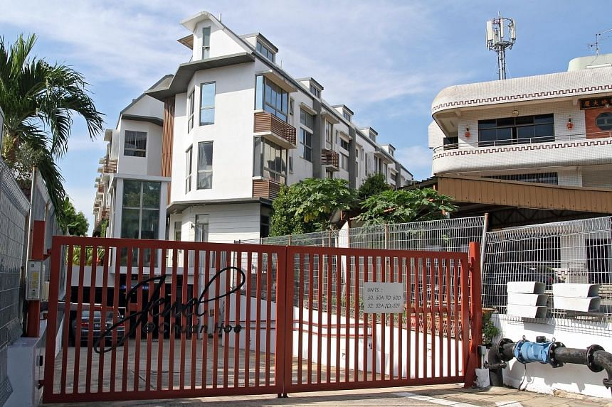 Ms Olive Tai currently owns a landed property in Serangoon Gardens which has three bedrooms and a swimming pool.