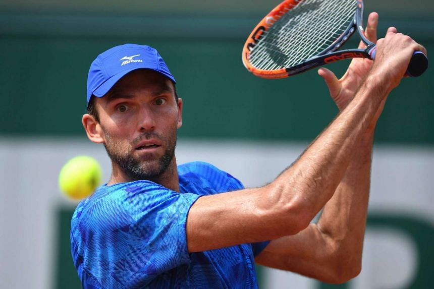 Croatia's Ivo Karlovic (above), who is 38, is through to the final.
