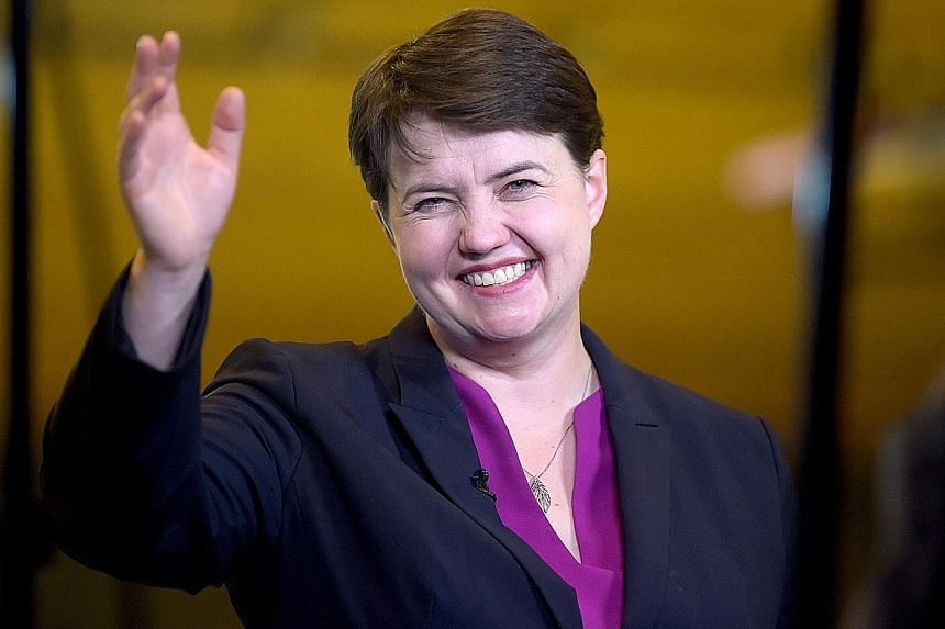 Many see Ms Ruth Davidson as a future British prime minister but her biggest contribution may be to keep a united UK by remaining in Scotland, where she is the only person able to deflate the SNP.