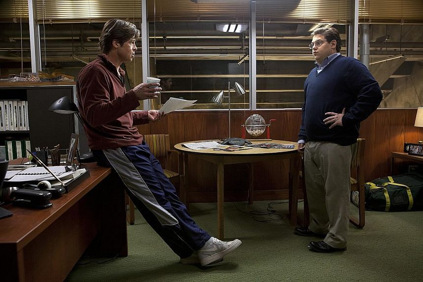 The first wave of movies that were cut included the Academy Award- nominated drama Moneyball (2011, above).