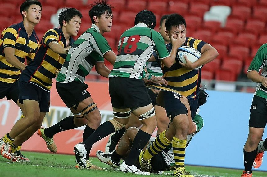 Former national captain Terence Khoo has said that his focus will be on rebuilding local rugby at the grassroots level if he is elected president of the Singapore Rugby Union. His opponent in the election, Cheo Chai Hong, has based his campaign on st