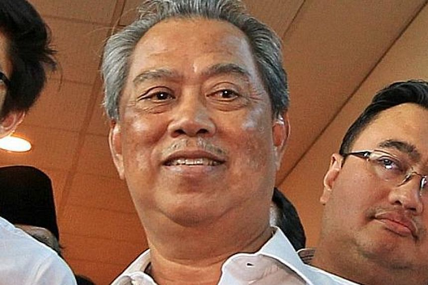 Dr Mahathir Mohamad (left) has been lobbying opposition chiefs to accept him and his deputy Muhyiddin Yassin as the alliance's top two leaders.
