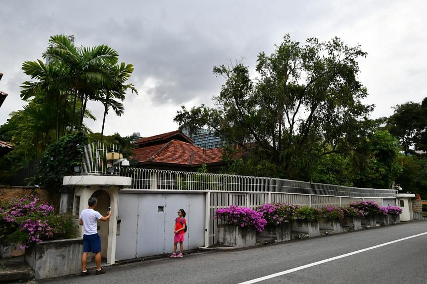 38 Oxley Road, home of the late former Prime Minister Lee Kuan Yew.