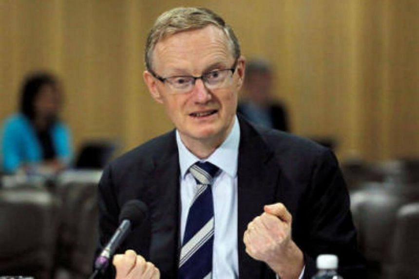 Australian central bank Governor Philip Lowe speaks at a parliamentary economics committee meeting in Sydney on Sept 22, 2016.