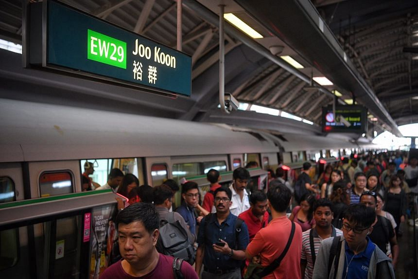 It was smooth going on the first weekday morning operations for the new Tuas West Extension.