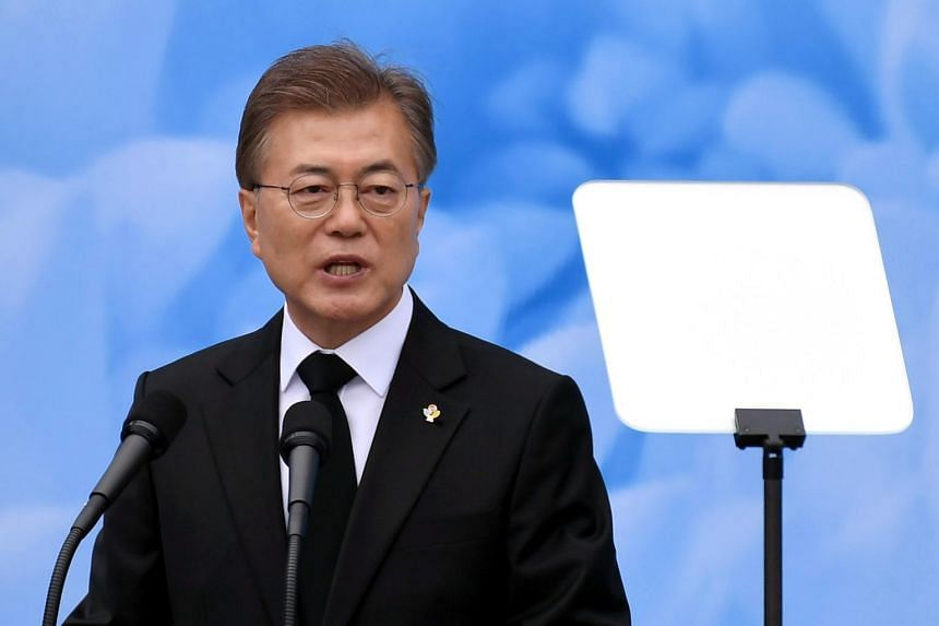 South Korean President Moon Jae In has urged North Korea to release the three Americans and six South Koreans still being detained.