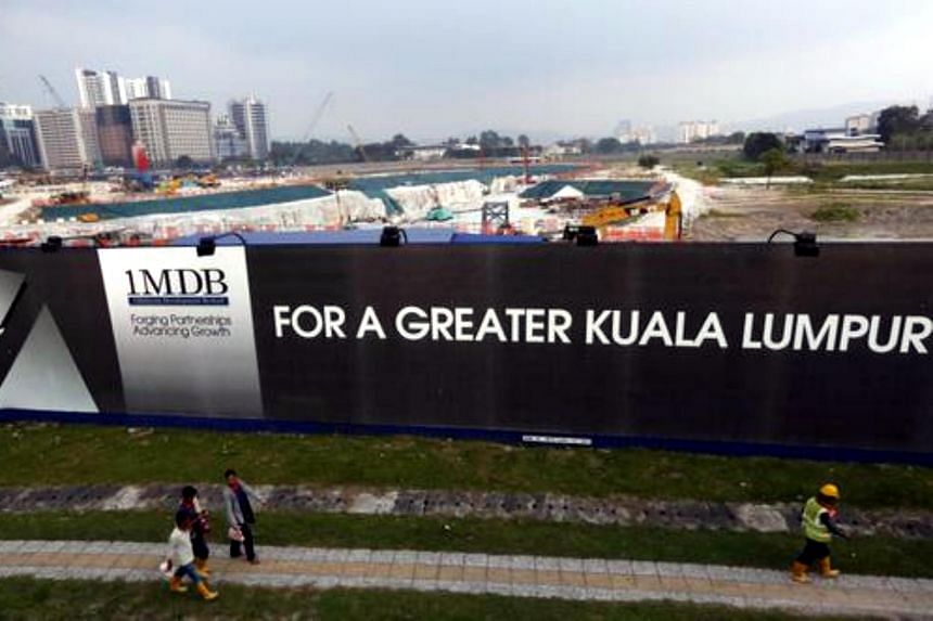 Ongoing construction works at the Tun Razak Exchange (TRX) project site.