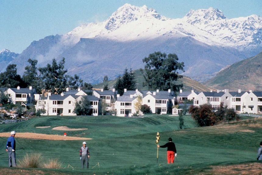 The Millbrook Resort in Queenstown, which together with The Hills, hosts the New Zealand Open golf tournament.