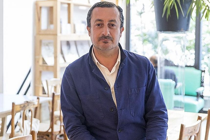 Lebanese activist Kamal Mouzawak (above) started Tawlet restaurant in Beirut where cooks from different areas in Lebanon present regional specialities.
