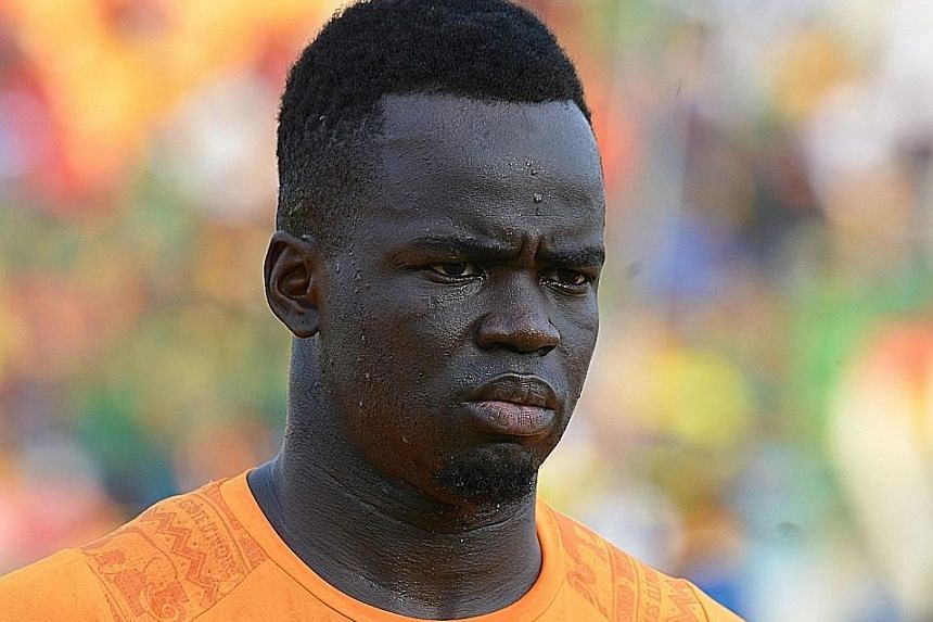 Ivory Coast international midfielder Cheick Tiote had 52 caps for his country and also played for Anderlecht, FC Twente and Newcastle.