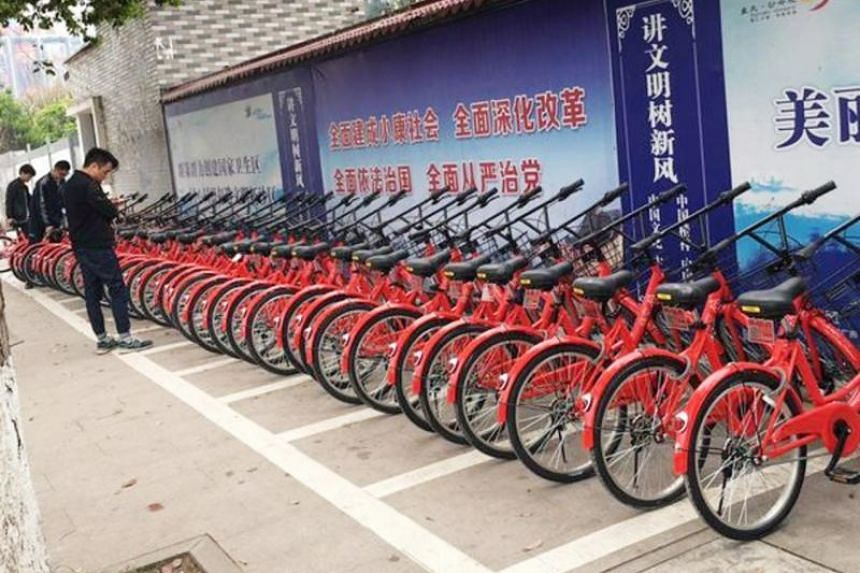 Only 10 per cent of its bicycles could be located, Wukong Bike founder Lei Houyi said.