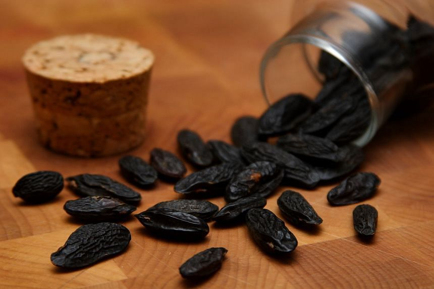The scent of Tonka beans has been described as a multi-layered sensation embracing notes of vanilla, almond, honey, caramel, cinnamon and cloves.