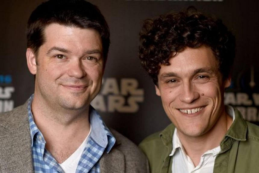 Directors Phil Lord (right) and Christopher Miller left The Han Solo Film due to creative differences.