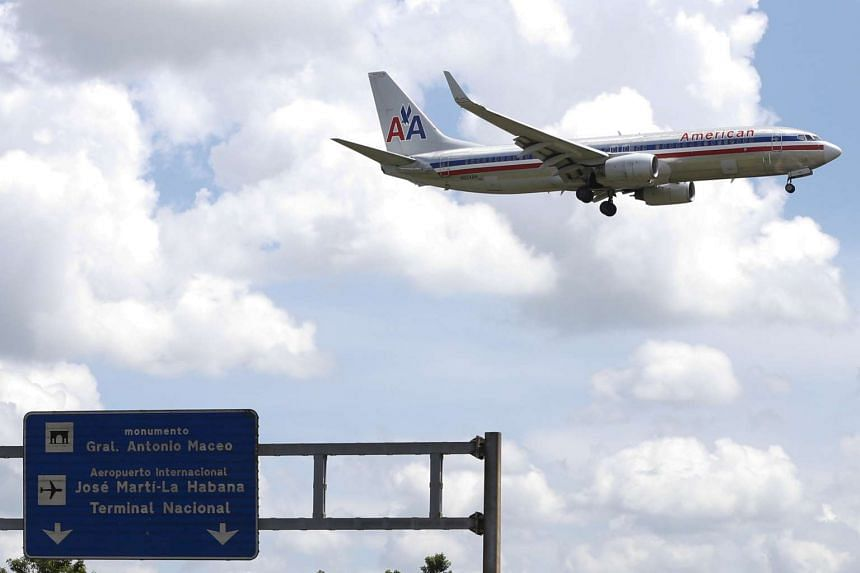 American Airlines grounded 43 flights to and from Phoenix Sky Harbor Airport, where temperatures were expected to hit 49 deg C.