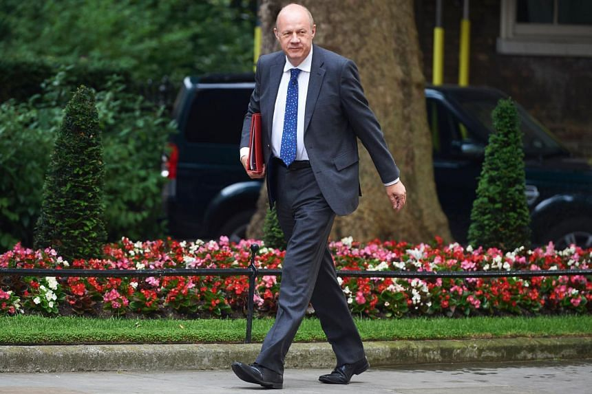 Britain's Cabinet Office Minister Damian Green arrives to attend a Cabinet meeting at 10 Downing Street in central London on June 20, 2017.