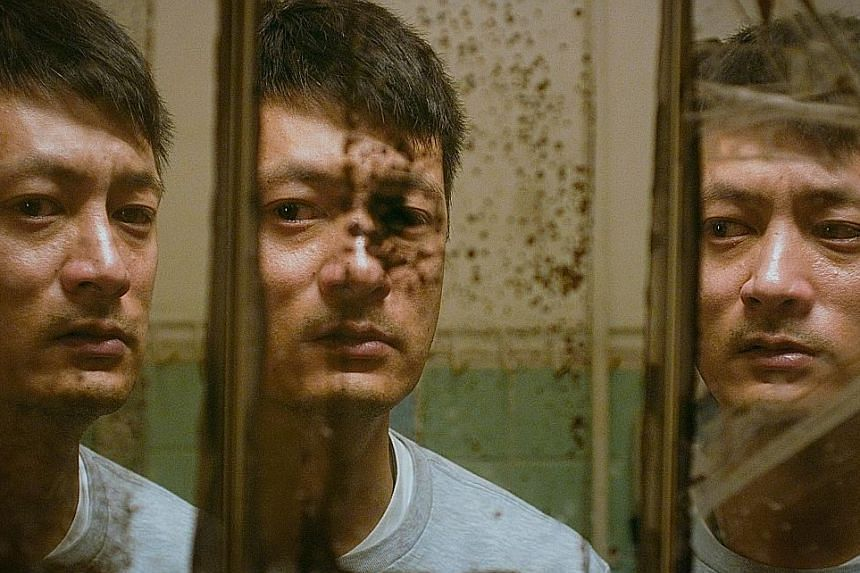 Shawn Yue gives a solid performance as a bipolar disorder sufferer in Mad World.