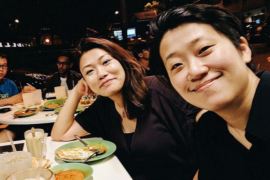 Sound designer Lim Ting Li (left) and director Kirsten Tan first worked together on the award-winning short film Dahdi.