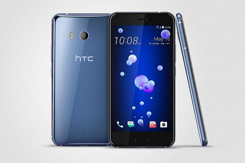 A single, short squeeze on the HTC U11 smartphone can be customised to launch the camera, for example, and a longer squeeze to fire up Google Assistant. There are 10 squeeze force levels to match how much force is needed.