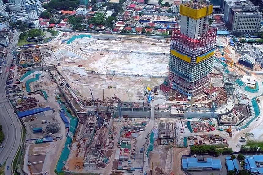 Named after Prime Minister Najib Razak's father and Malaysia's second premier, the TRX development has a projected sales value of RM40 billion (S$13 billion).