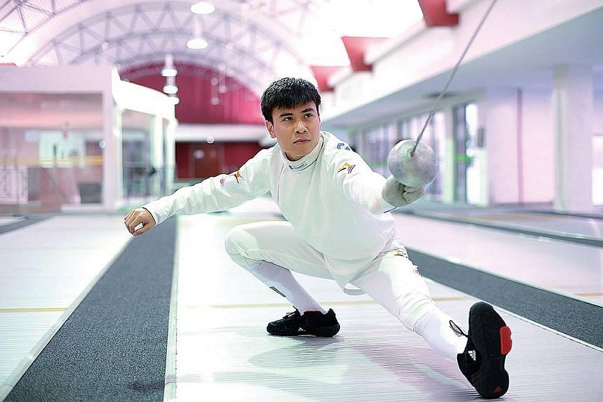 National epee fencer Samson Lee is the first Singaporean to be elected to the Fencing Confederation of Asia Athletes' Commission.
