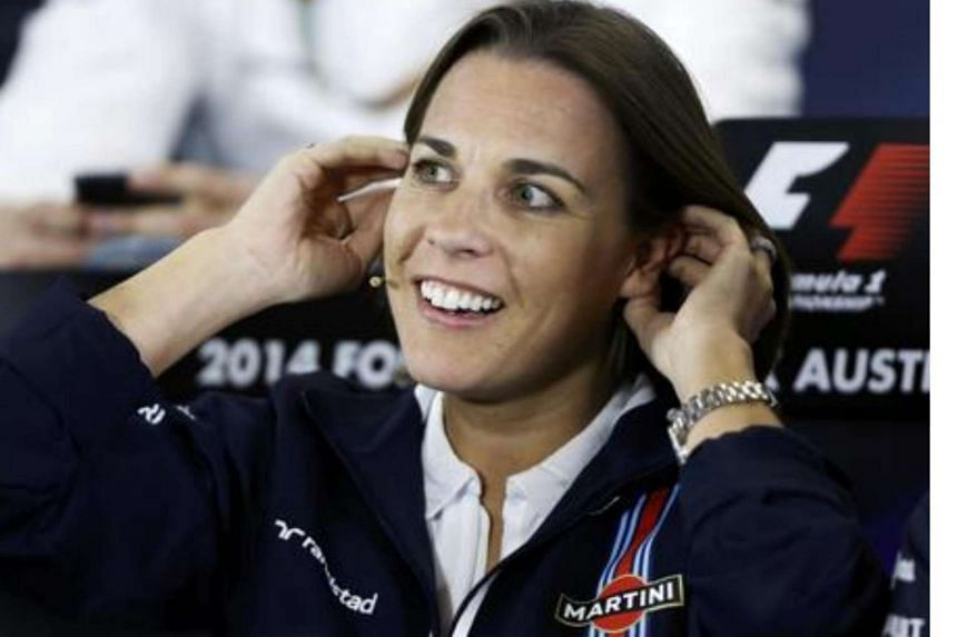 Deputy team principal Claire Williams, in a file picture from the 2014 Australian Grand Prix, says the team were happy with their Mercedes power units and had no plans to revive a 1980s partnership with Honda even if they split with McLaren.