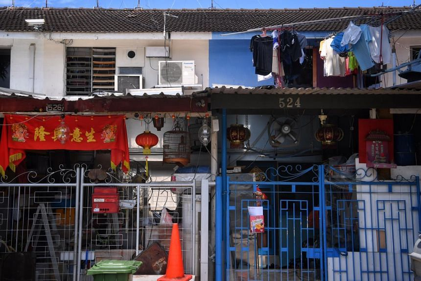 Units at Geylang Lorong 3, where the leases will end in 3 years time.