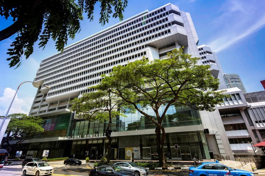 The TripleOne Somerset, a prime integrated development next to Somerset MRT station.