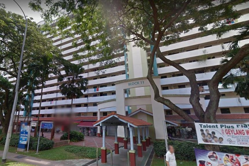 The man had allegedly thrown a bicycle down from Block 11 Upper Boon Keng Road in the early hours of Thursday (June 22) morning.