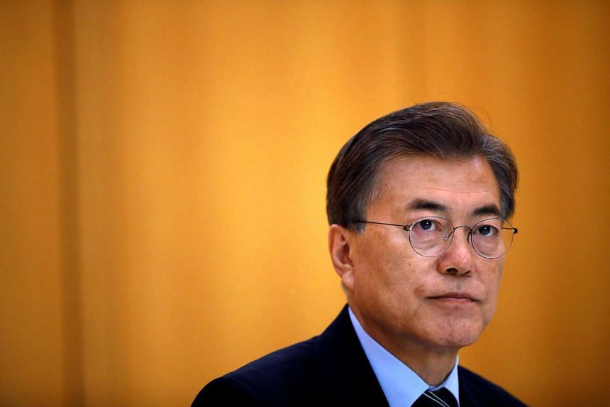 South Korean President Moon Jae In said China should do more to rein in North Korea's nuclear programme.