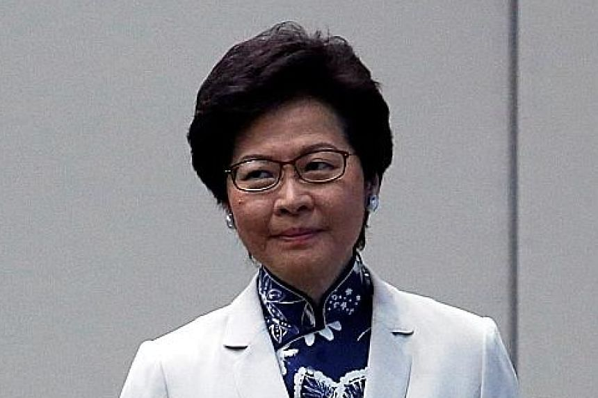 """Hong Kong Chief Executive-elect Carrie Lam said her nominations were """"supported by Beijing""""."""