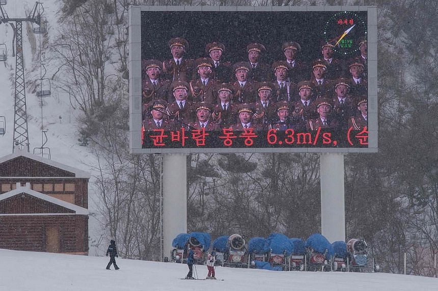 The Masikryong ski resort in North Korea is the only one in the country and the brainchild of its leader Kim Jong Un.