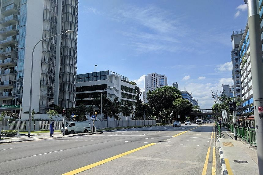 The signalised crossing at the junction of Bendemeer Road and Whampoa East was commissioned in January last year. Before that, jaywalkers would dash across the road instead of using the overhead bridge about 100m down the road. A resident in the area