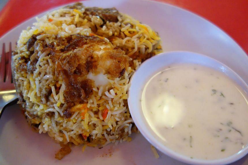 Dum briyani from Bismillah Biryani Restaurant.