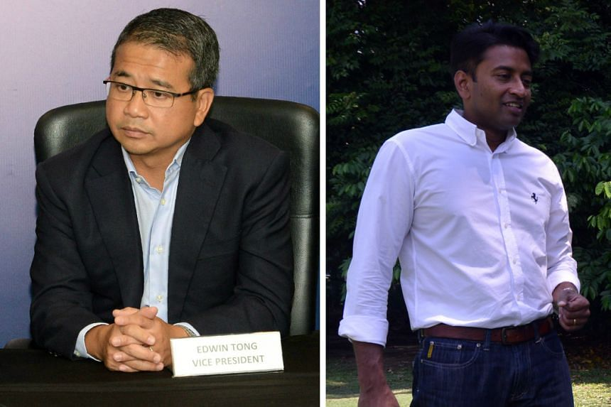 FAS vice-chairman Edwin Tong believes that the transition from Krishna Ramachandra, who has been at Tampines' helm for less than two years, to the next chairman will be smooth.