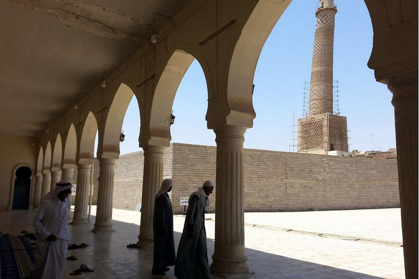 According to media reports, the Great Mosque of al-Nuri and its leaning minaret have been destroyed by ISIS.