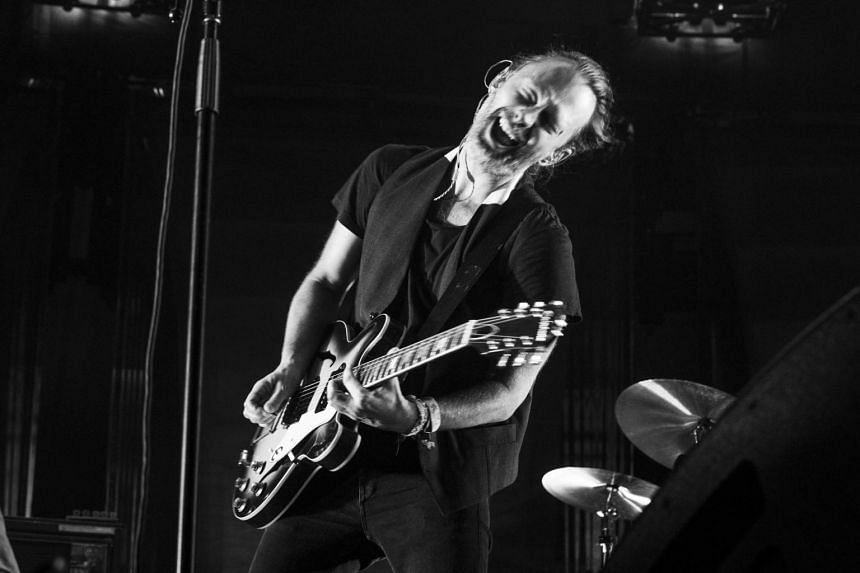 Thom Yorke of Radiohead performs at Madison Square Garden in New York, on July 26, 2016.
