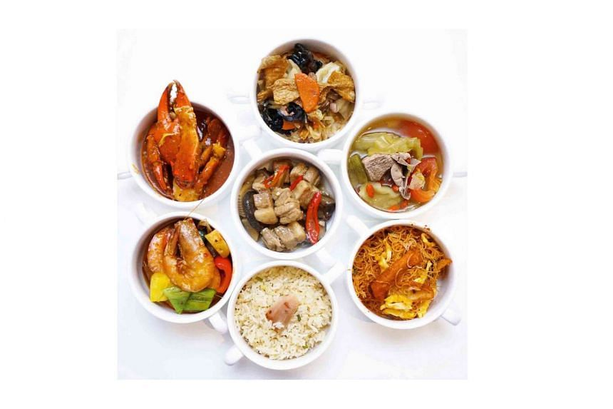 The Peranakan Dinner Buffet at Royale Restaurant, Mercure Singapore Bugis.